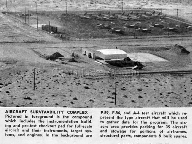 Aircraft Survivability compound