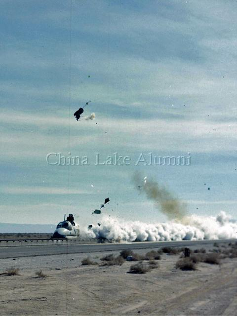 A-6A ejection seat test