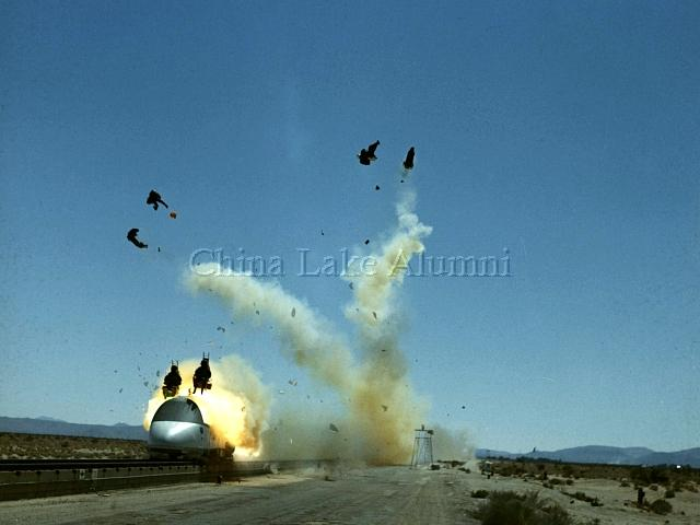 S-3A ejection seat test
